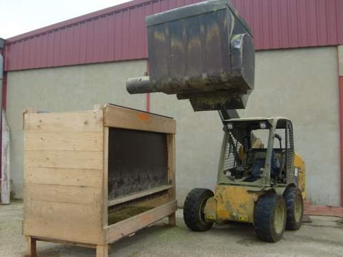 MS8700 Tolva para ovejas para mezclas 245x80x120 cm