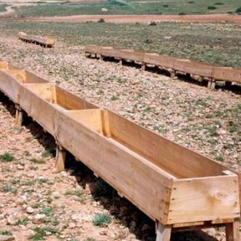 comedero bandeja exterior madera MS1500